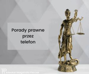 telefoniczna porada prawna